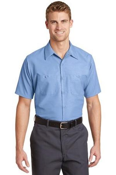 Red Kap - Short Sleeve Industrial Work Shirt