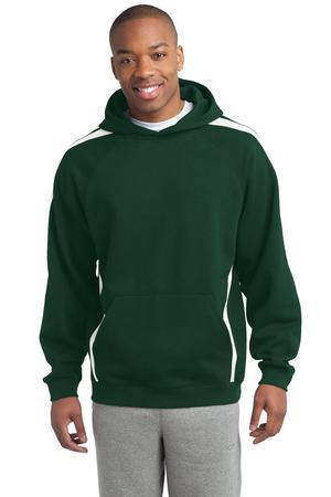 Sport-Tek® Sleeve Stripe Pullover Hooded Sweatshirt