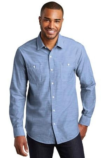 Port Authority ®  Slub Chambray Shirt