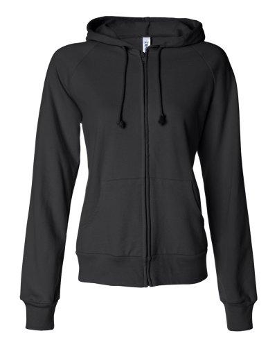 Bella + Canvas - Ladies' Raglan Full-Zip Hooded Sweatshirt