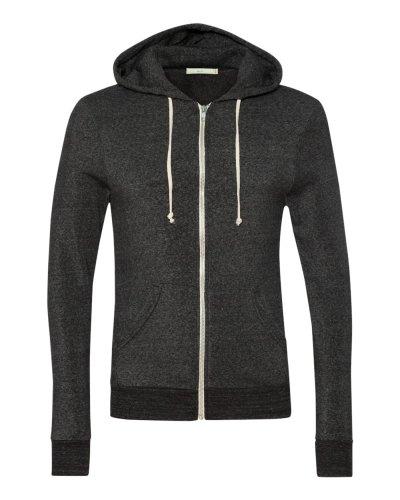 Alternative - Eco-Fleece Rocky Hooded Full-Zip Sweatshirt