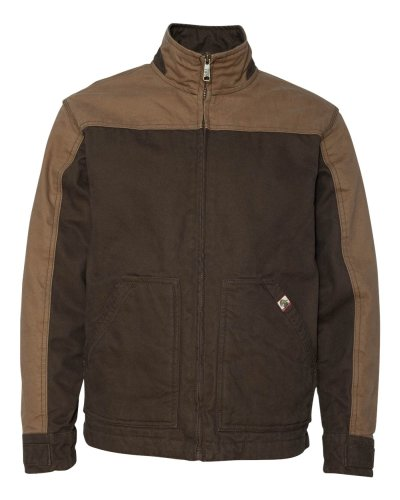 DRI DUCK - Horizon Two-Tone Cotton Canvas Jacket
