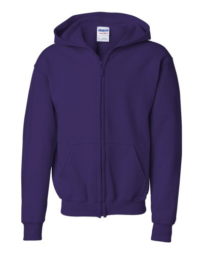 Gildan - Heavy Blend™ Youth Full-Zip Hooded Sweatshirt