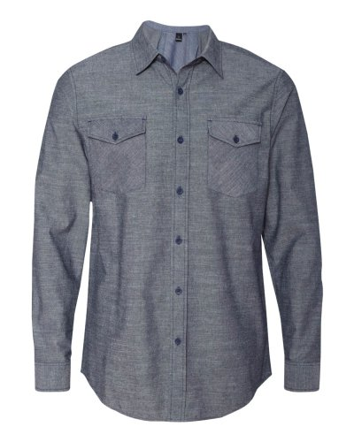 Burnside - Chambray Long Sleeve Shirt