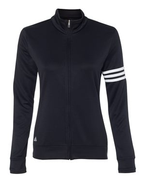 Adidas - Golf Women's ClimaLite 3-Stripes French Terry Full-Zip Jacket