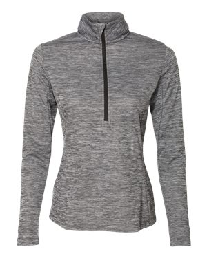 Women's Russell Striated Quarter-Zip Pullover