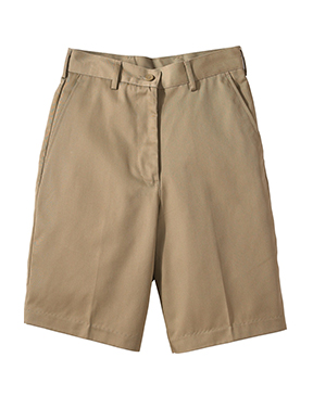 Ladies' Flat Front Shorts