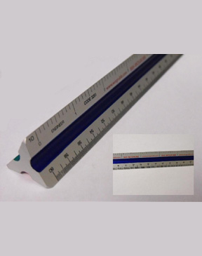"Engineers Scale 12"" Ruler"