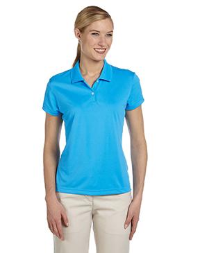 adidas Golf Ladies' climalite Short-Sleeve Piqué Polo