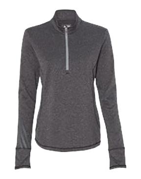 adidas - Golf Women's Brushed Terry Heather Quarter-Zip Jacket