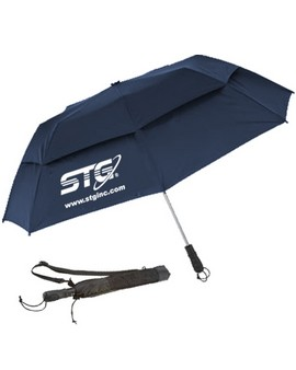 "58"" Vented Auto Open Folding Umbrella (Quick Ship)"