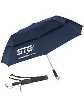 "58"" Vented Auto Open Folding Umbrella (Quick Ship)"