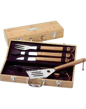 Bamboo Grill Set
