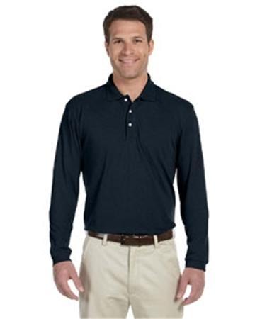 Harriton 5.6 oz. Easy Blend™ Long-Sleeve Polo