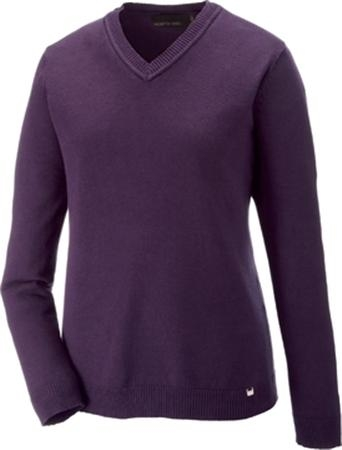 North End Ladies' Merton Soft Touch V-Neck Sweater