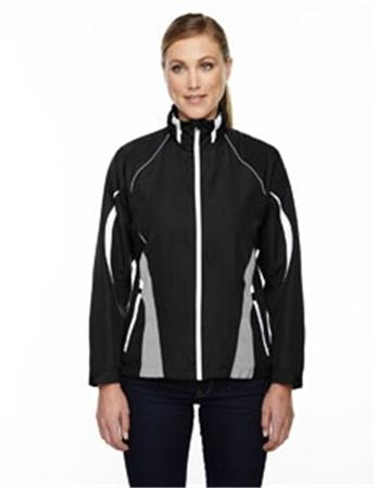 North End Sport Red Impact Ladies' Active Lite Color-Block Jacket