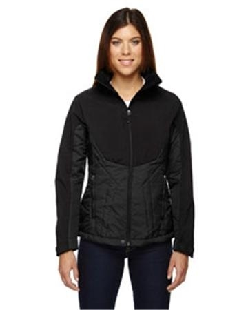 North End Sport Red Innovate Ladies' Hybrid Insulated Soft Shell Jacket