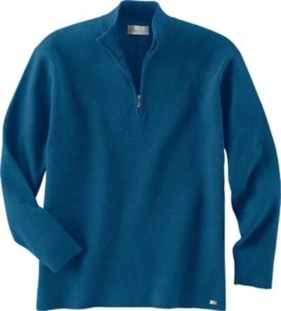 MEN'S HALF-ZIP MOCK NECK SWEATER