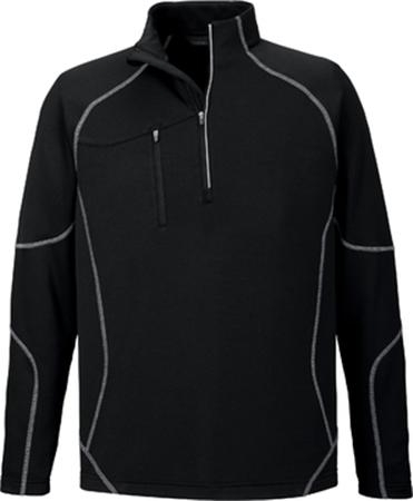 CATALYST MEN'S PERFORMANCE FLEECE HALF-ZIP TOP
