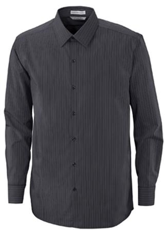 BOARDWALK MEN'S FREE 2-PLY 80'S COTTON STRIPED TAPED SHIRT