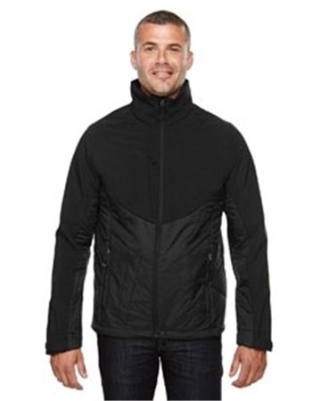 North End Sport Red Innovate Men's Hybrid Insulated Soft Shell Jacket