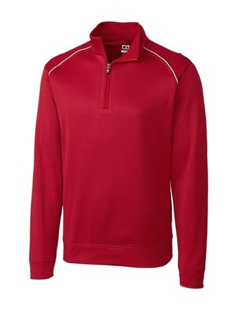 Men's Cutter&Buck Big&Tall WeatherTec™ Ridge Half Zip
