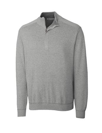 Men's Big & Tall Broadview Half Zip Sweater