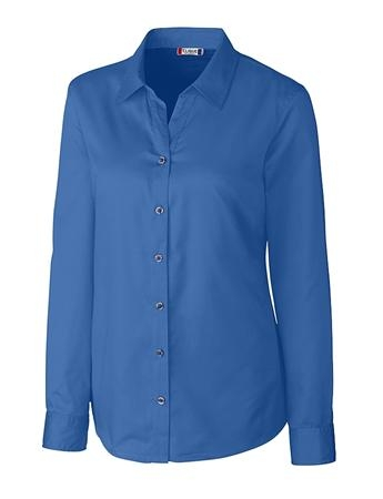 Clique Ladies' L/S Avesta Lady Stain Resistant Twill