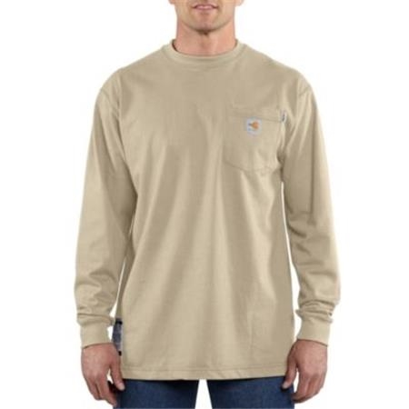 MEN'S FLAME-RESISTANT FORCE™ COTTON LONG-SLEEVE T-SHIRT