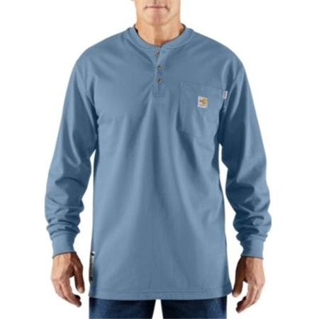 FLAME-RESISTANT FORCE™ COTTON LONG-SLEEVE HENLEY