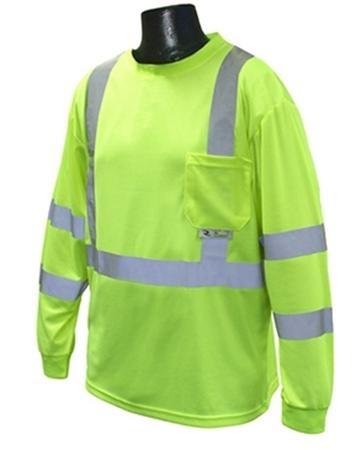 Class 3 Long Sleeve Safety T-shirt