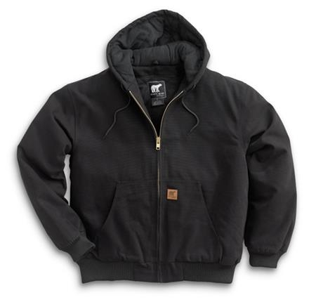 Cotton Duck Hooded Jacket