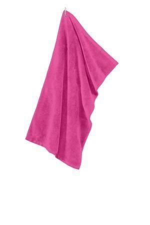 Port Authority® Grommeted Microfiber Golf Towel