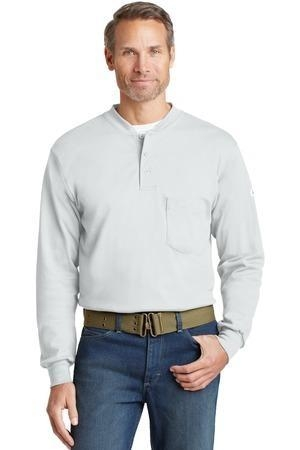 Bulwark® EXCEL FR® Long Sleeve Tagless Henley