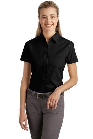Port Authority® Ladies Short Sleeve Easy Care, Soil Resistant Shirt