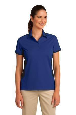 Port Authority® Ladies Dry Zone® Colorblock Ottoman Polo