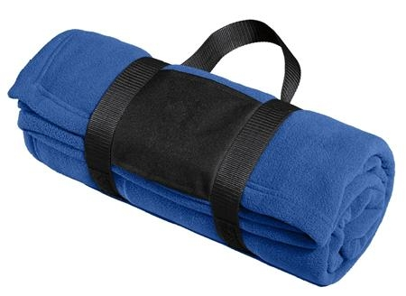 Port Authority® - Fleece Blanket with Carrying Strap