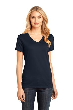District Made™ - Ladies Perfect Weight V-Neck Tee