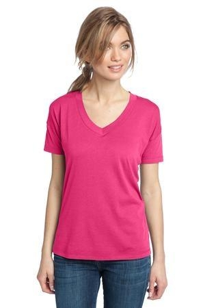 District Made® - Ladies Modal Blend Relaxed V-Neck Tee