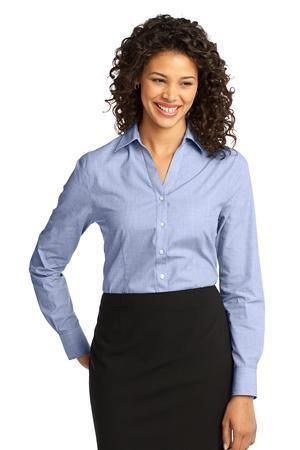 Port Authority® - Ladies Crosshatch Easy Care Shirt