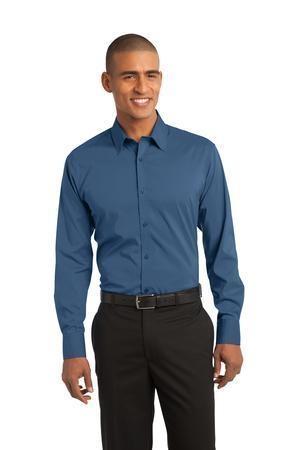 Port Authority® - Stretch Poplin Shirt