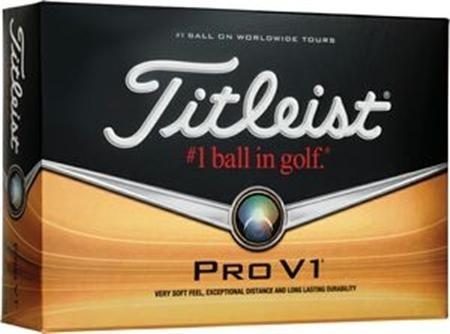 Golf Balls: Titleist Pro V 1