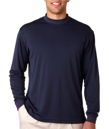 Adidas ClimaLite Tech Long-sleeve Mock Shirt