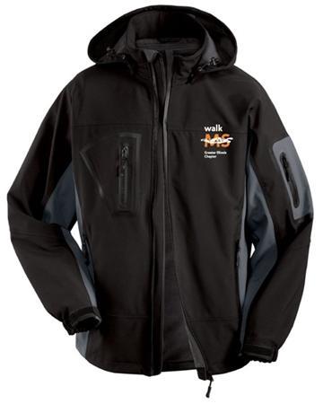 Unisex Waterproof Softshell Jacket