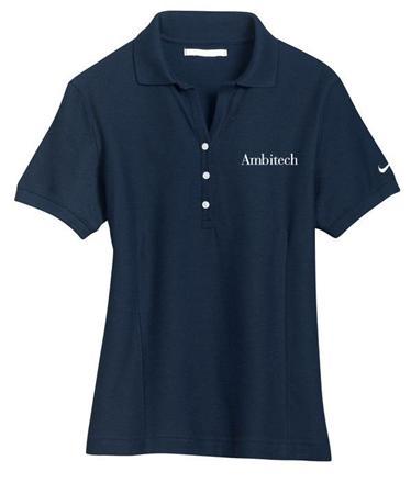 Ladies Pique Knit Sport Shirt