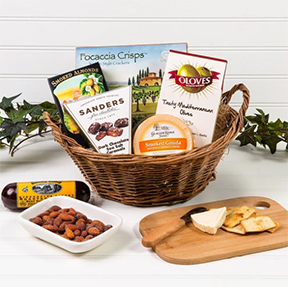 A Day at The Vineyard Gift Basket