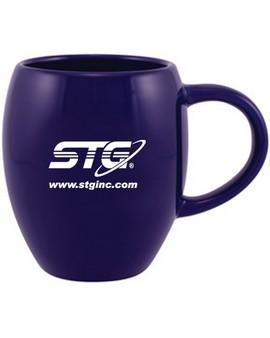 16 oz. Barrel Shaped Desk Mug (Quick Ship)