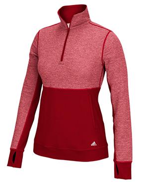 adidas Women's Climalite Twist 1/2 Zip Pullover
