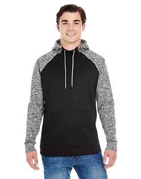 J America Adult Colorblock Cosmic Pullover Hood