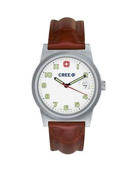 Wenger® Mens Swiss Mil Cl Field Br Strp Watch